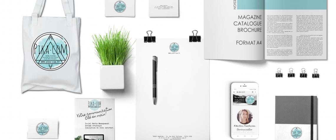 DESIGN GRAPHIQUE PIKA-COM FREELANCER WHITE