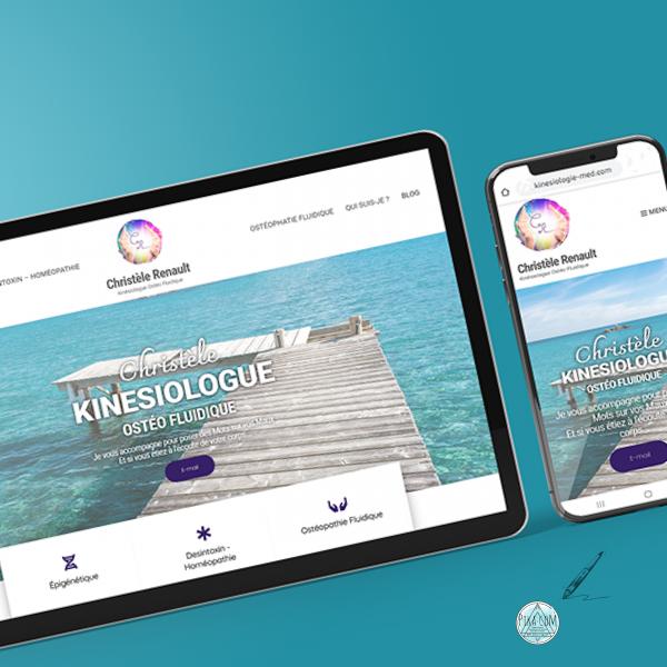 conception site internet - pika com - agde - kinésiologue insta